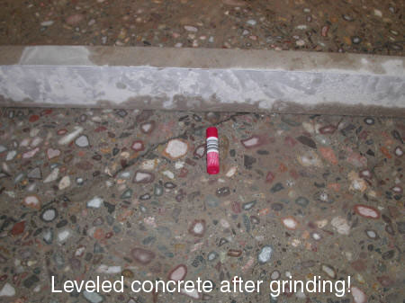 Concrete Grinding | Our concrete grinding method is virtually dust